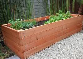 long wood planter boxes royals