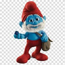 papa smurf the smurfs character garden