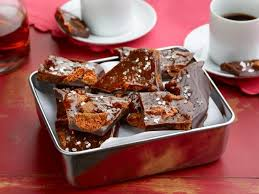 homemade candy bars with chunks of