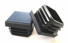 10 14 Ga 1 5 Plastic End Caps Fence Post Caps Chair Glides 30 Pk Square Tubing End Caps Fitness Equipment End Caps
