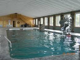 indoor pool hottub fireplace firepit