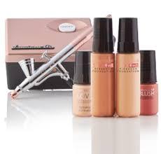 airbrush cosmetics makeup foundation