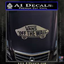 Vans Off The Wall Skate Decal Sticker A1 Decals