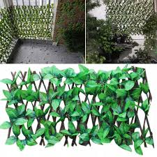 Artificial Hedge Leaf Fence Garden Patio Yard Screen Party Decoration Photo Props Home Restaurant Ornaments Green Expandable Fencing Trellis Gates Aliexpress