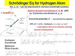wave mechanics and the hydrogen atom
