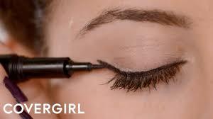 how to apply eyeliner cat eye makeup