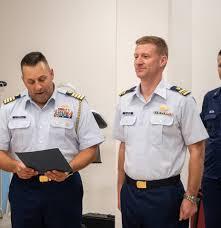 Bravo Zulu to Commander Adam Williamson... - United States Coast Guard Band  | Facebook