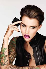 edgy makeup spokepersons ruby rose