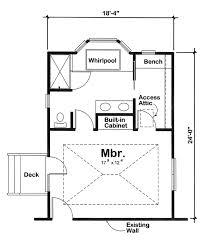 plan 90027 master bedroom addition
