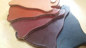 vegetable tanned leather for