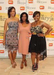Latarsha Rose left Robinne Lee center Brely Editorial Stock Photo ...