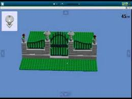 How To Build A Lego Fence With Gate Youtube