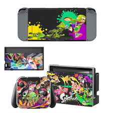 Hot Newest Splatoon 2 Game Cover Sticker Decals For Nintendo Switch Console Stickers Joy Con Controller Skin Protective Stickers Aliexpress