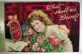 Vintage Rare Coca-Cola Hilda Clark Original Menu - 1901 | #22491070