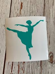 Dance Decal Dancer Sticker Ballet Water Bottle Sticker Etsy