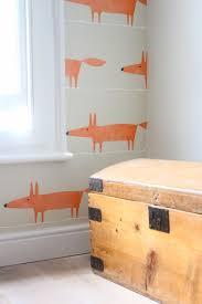 Accent Walls Fox Kids Room Kids Room Wallpaper Mr Fox Wallpaper