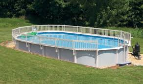 Compare Prices 24 Inch Resin Above Ground Pool Fence Kit Taupe Base Kit A 8 Sections Charlottegottshalltma