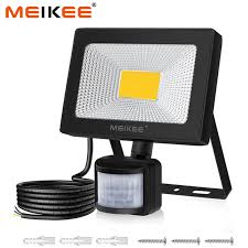 20w led motion sensor flood light