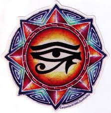 Eye Of Horus Bumper Sticker Decal Peace Resource Project