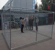 China Chain Link Dog Kennel Pet Playpen Portable Exercise Cage Fence Enclosure China Dog Kennel Wholesale And Dog Kennel Panels For Sale Price
