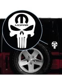 Mopar Punisher Decal Sticker Midwest Sticker Shop