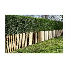 Picket Garden Fence Panels Wood Pales 3ft High Pointed Top Pack Of 50 Ebp Pt 3ftx50