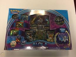 Pokemon Alola Moon Lunala Collection Trading Card Game Box New Free  Shipping