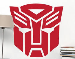 Transformers Wall Decals Etsy