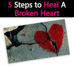 how to handle a breakup steps to heal a broken heart