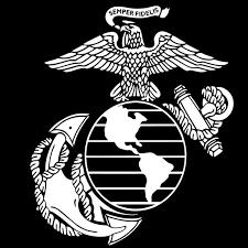 New Style Matte Black Usmc Marine Corps Veteran Usa Decal Sticker Macbook Car Truck Window Wish