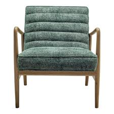 Adeline Green Accent Chair by Moe's Home   Concepts Furniture