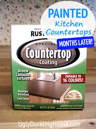 rustoleum painted countertops and
