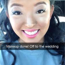bridesmaid makeup look done by holly
