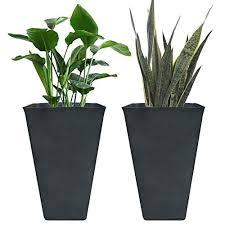 tall outdoor planters com