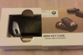 bmw key holder fob leather case cover m
