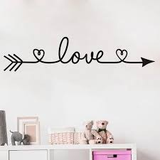 Wall Stickers For Bedroom Removable Decal Love Pattern Is Fascinating Wall Decals Living Room Decoration Az 28 Wall Stickers Aliexpress