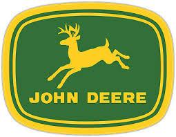 John Deere Logo Tractor Agriculture Diesel Power Vinyl Decal Sticker Window Car