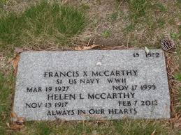 Francis X McCarthy (1927-1993) - Find A Grave Memorial