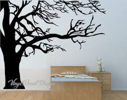 Spooky Tree Decal Etsy
