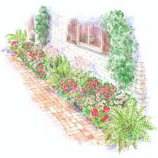 shade garden plans better homes gardens