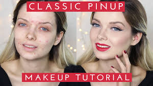 clic pinup inspired makeup tutorial