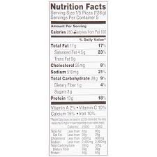 tombstone pepperoni pizza nutrition facts
