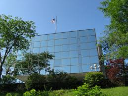 Tattered flag atop old Teamsters building removed - News - Uticaod ...