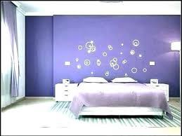 light purple bedroom walls