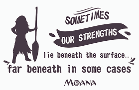 Moana Silhouette With Paddle Wall Art Decal Quotes Vinyl Home Bedroom Decor Ebay