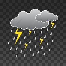 مجرد غيوم مع قطرات المطر مثلا تمطر غيم المتجه Png والمتجهات