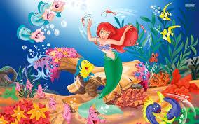little mermaid wallpaper 1920x1200