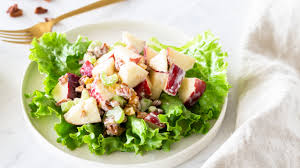 apple salad with pecans and raisins recipe