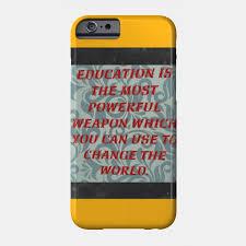 education quote education quotes phone case teepublic
