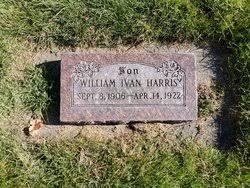 William Ivan Harris (1906-1922) - Find A Grave Memorial